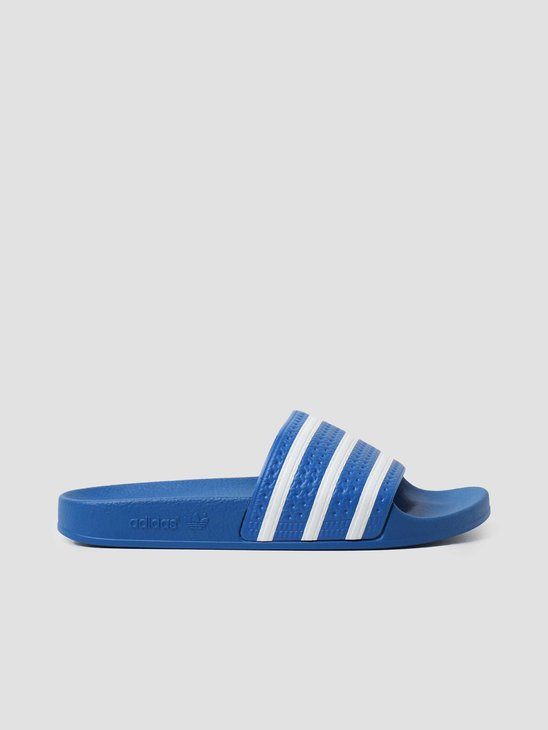 adidas Adilette Footwear White Blue FX5834