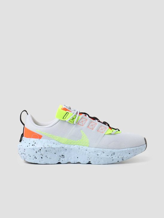 Nike W Nike Crater Impact Football Grey Volt Hyper Crimson Black CW2386-002
