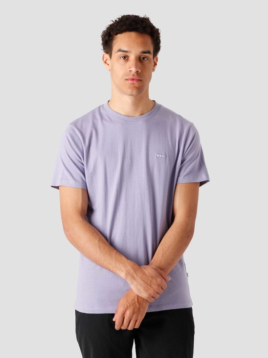 Quality Blanks QB03 Patch Logo T-shirt Dusty Lilac