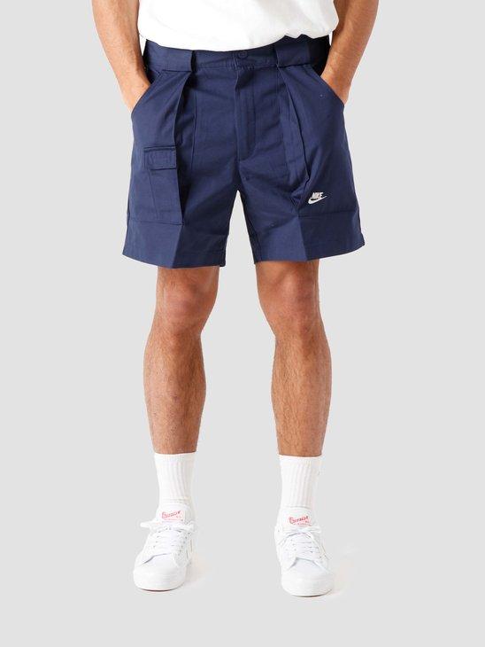 Nike Nsw Reissue Wvn Short Midnight Navy Sail DA0368-410