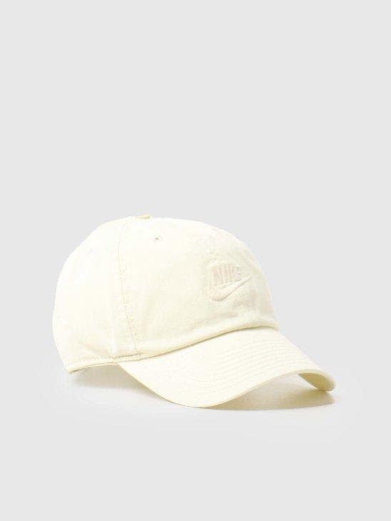 Nike U Nsw H86 Futura Wash Cap Coconut Milk Coconut Milk 913011-113
