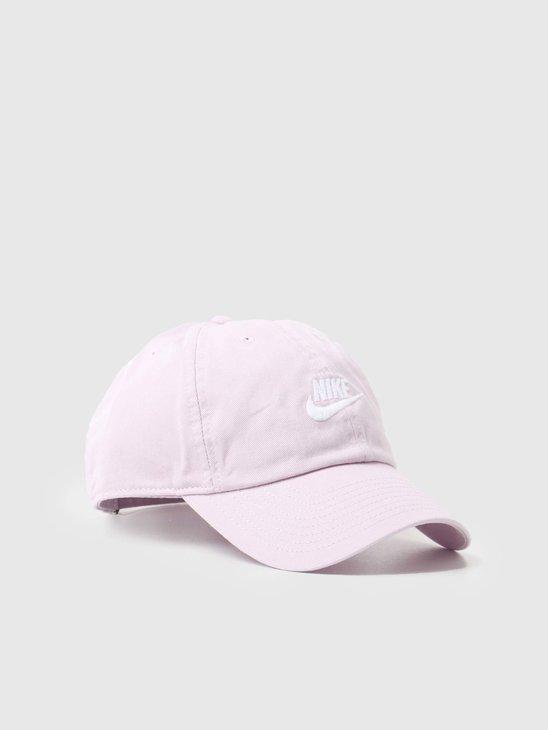 Nike U Nsw H86 Futura Wash Cap Iced Lilac White 913011-576