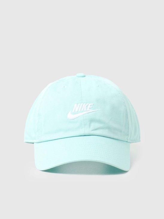 Nike U Nsw H86 Futura Wash Cap Light Dew White 913011-382