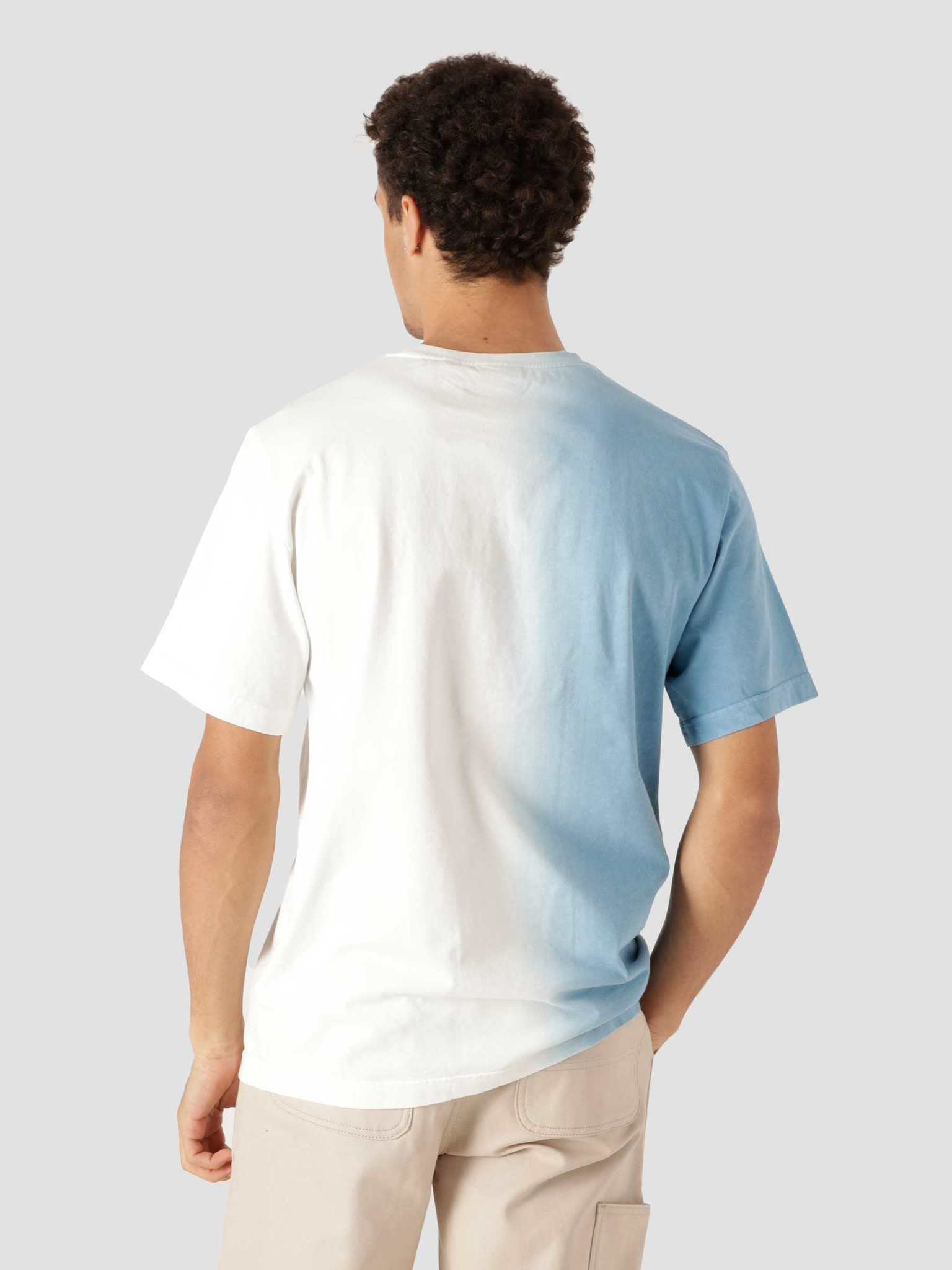 Daily Paper Daily Paper Rebo Tee Light Blue Off White 2113013