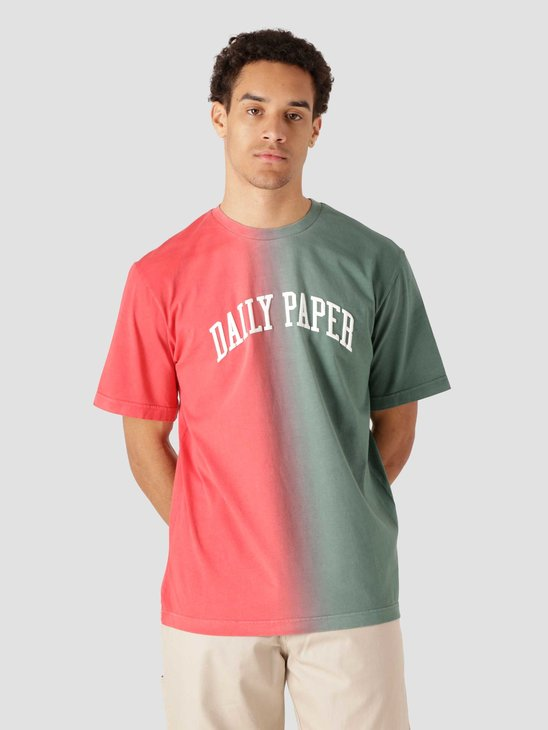 Daily Paper Rebo Tee Red Green 2113012