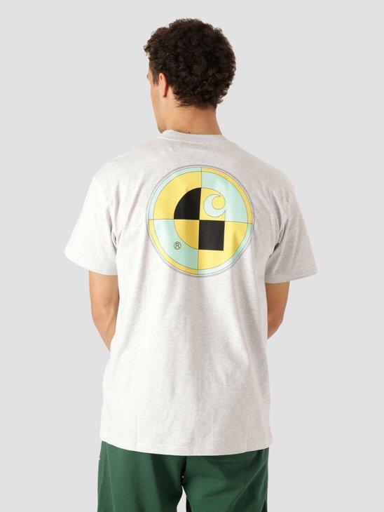 Carhartt WIP  Orbit Test T-Shirt Ash Heather I029940