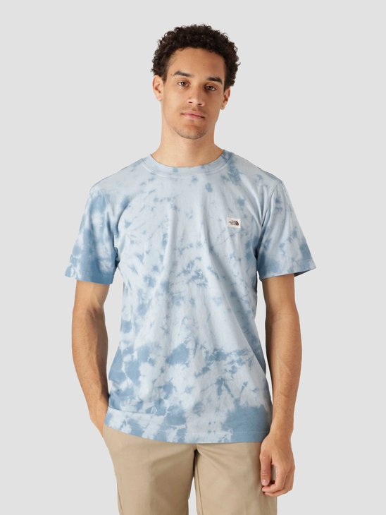 The North Face Natural Dye T-Shirt Monterey Blue Wash NF0A55SW0EF