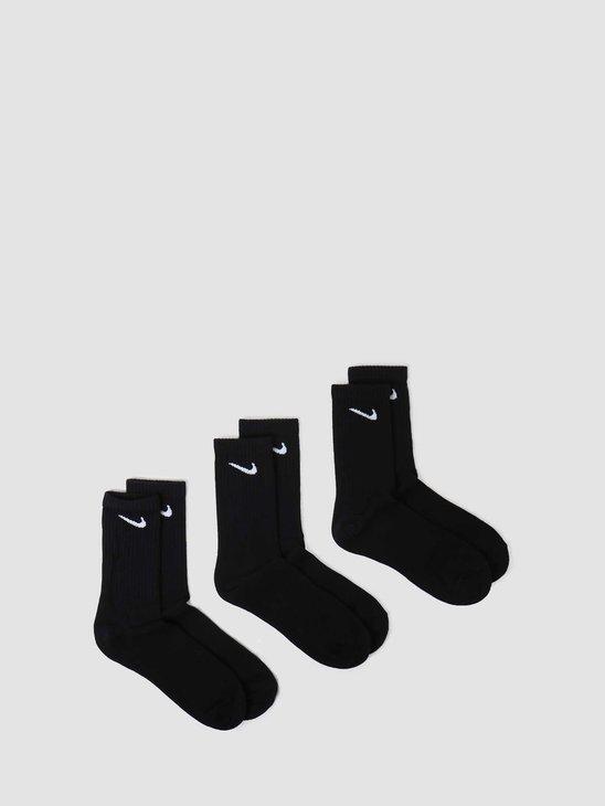 Nike Everyday Crew 3PR Black White SX7676-010