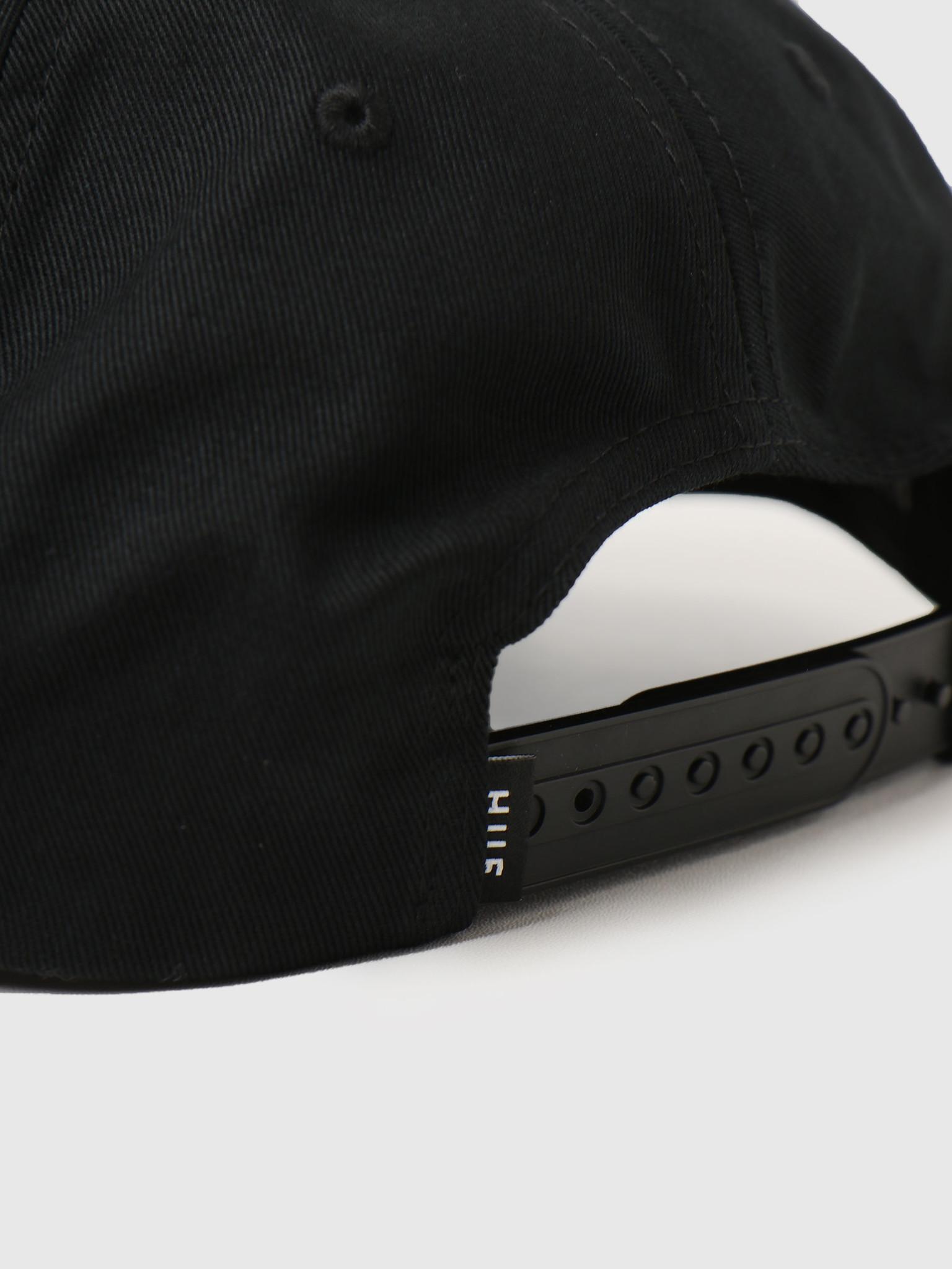 HUF HUF Ess. Unstructured Snapback Black HT00543
