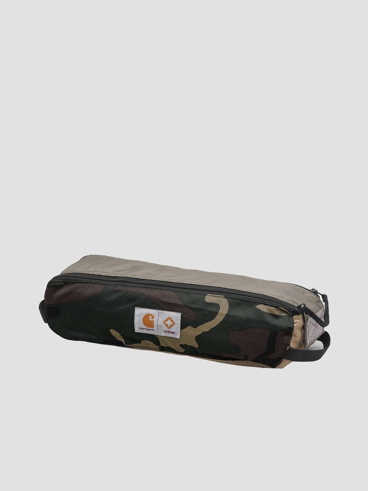 Carhartt WIP Carhartt WIP Helinox Valiant 4 Table One Black Air Force Grey Leather I029215-0DL00