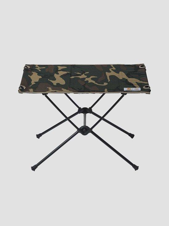 Carhartt WIP Helinox Valiant 4 Table One Black Air Force Grey Leather I029215-0DL00