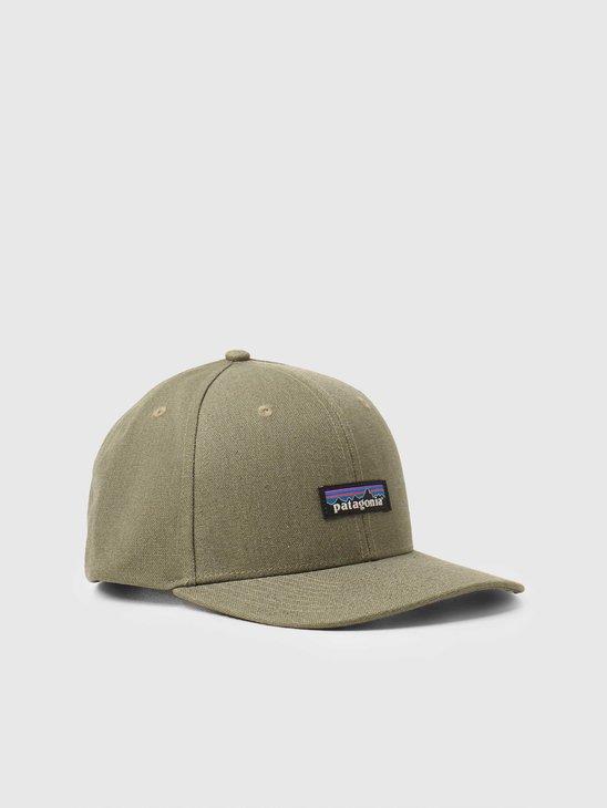 Patagonia Tin Shed Hat P-6 Logo Fatigue Green 33376