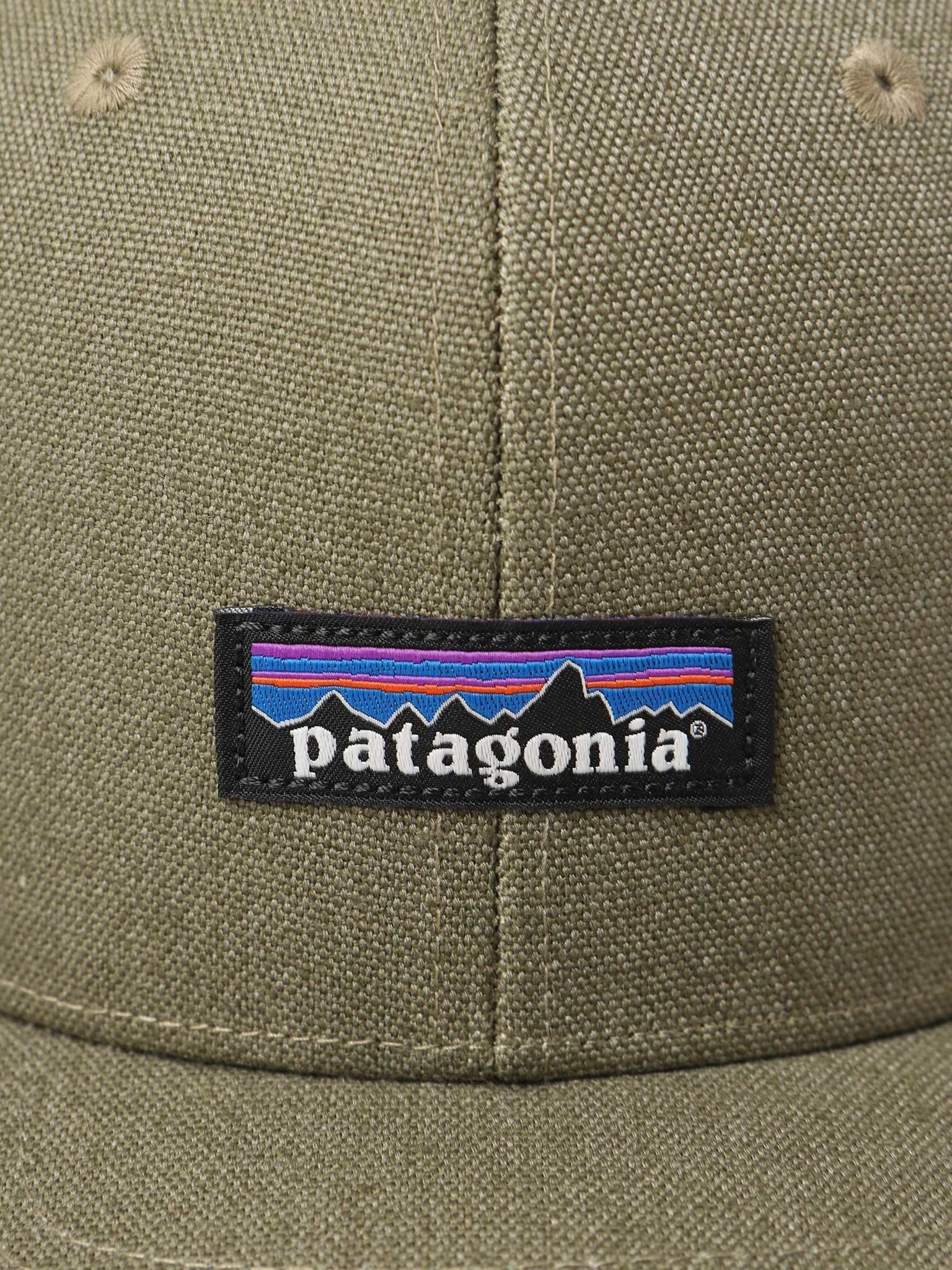 Patagonia Patagonia Tin Shed Hat P-6 Logo Fatigue Green 33376