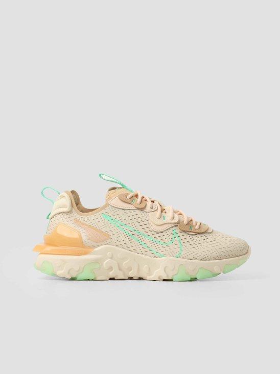 Nike W Nike React Vision Pearl White Green Glow Sesame CI7523-201