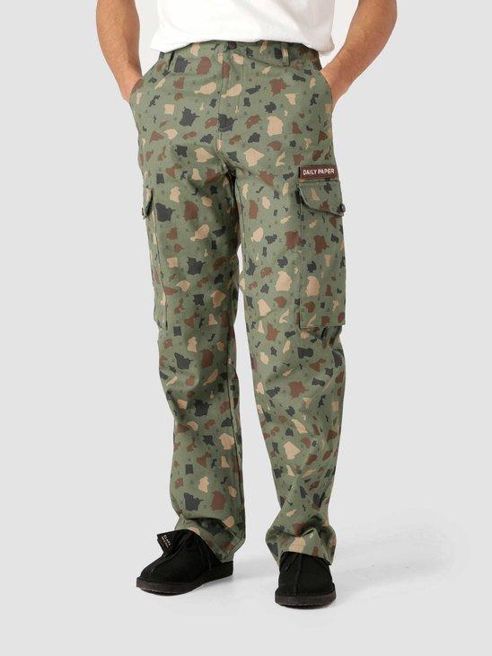 Daily Paper Recomo Cargo Pants Green Camo 2113040