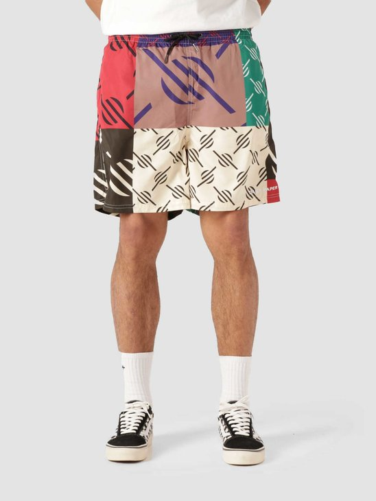 Daily Paper Repatch Swimshort Multi Colored 2113041