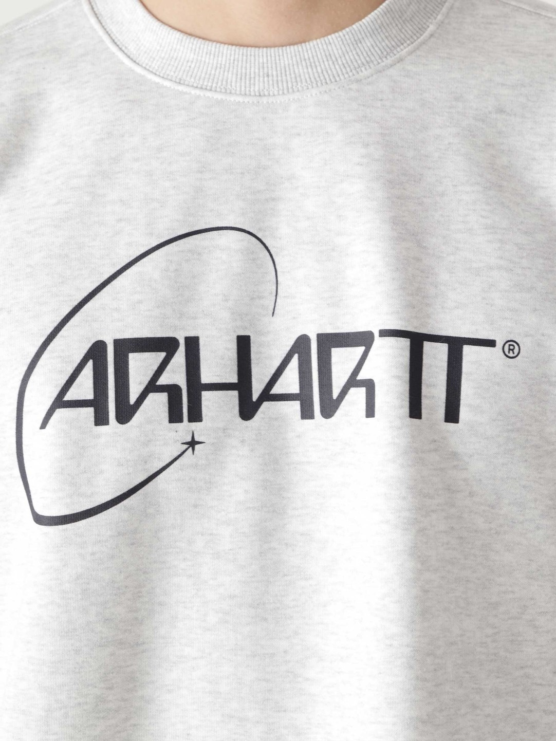 Carhartt WIP Carhartt WIP Orbit Sweat Ash Heather Dark Navy I029929