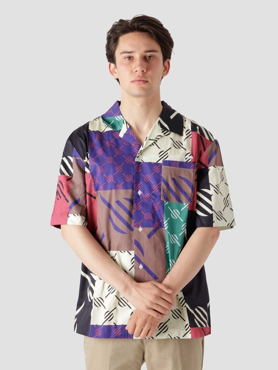 Daily Paper Repatch Shirt Multi Colored 2113008