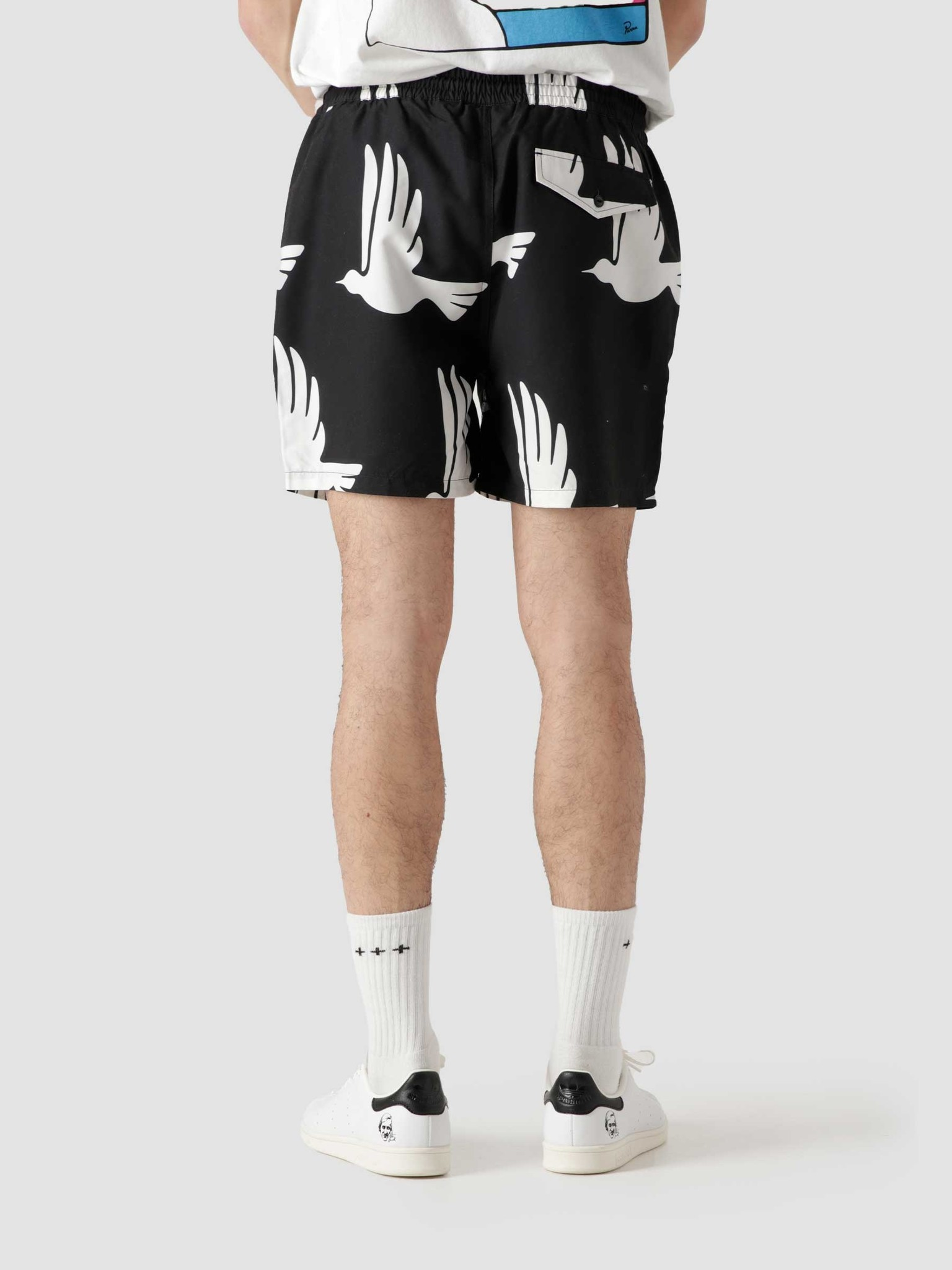 by Parra by Parra Static Flight Swimshorts Black 45500