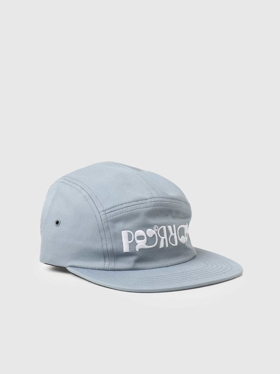 by Parra Fancy Logo Volley Hat Dusty Blue 45530