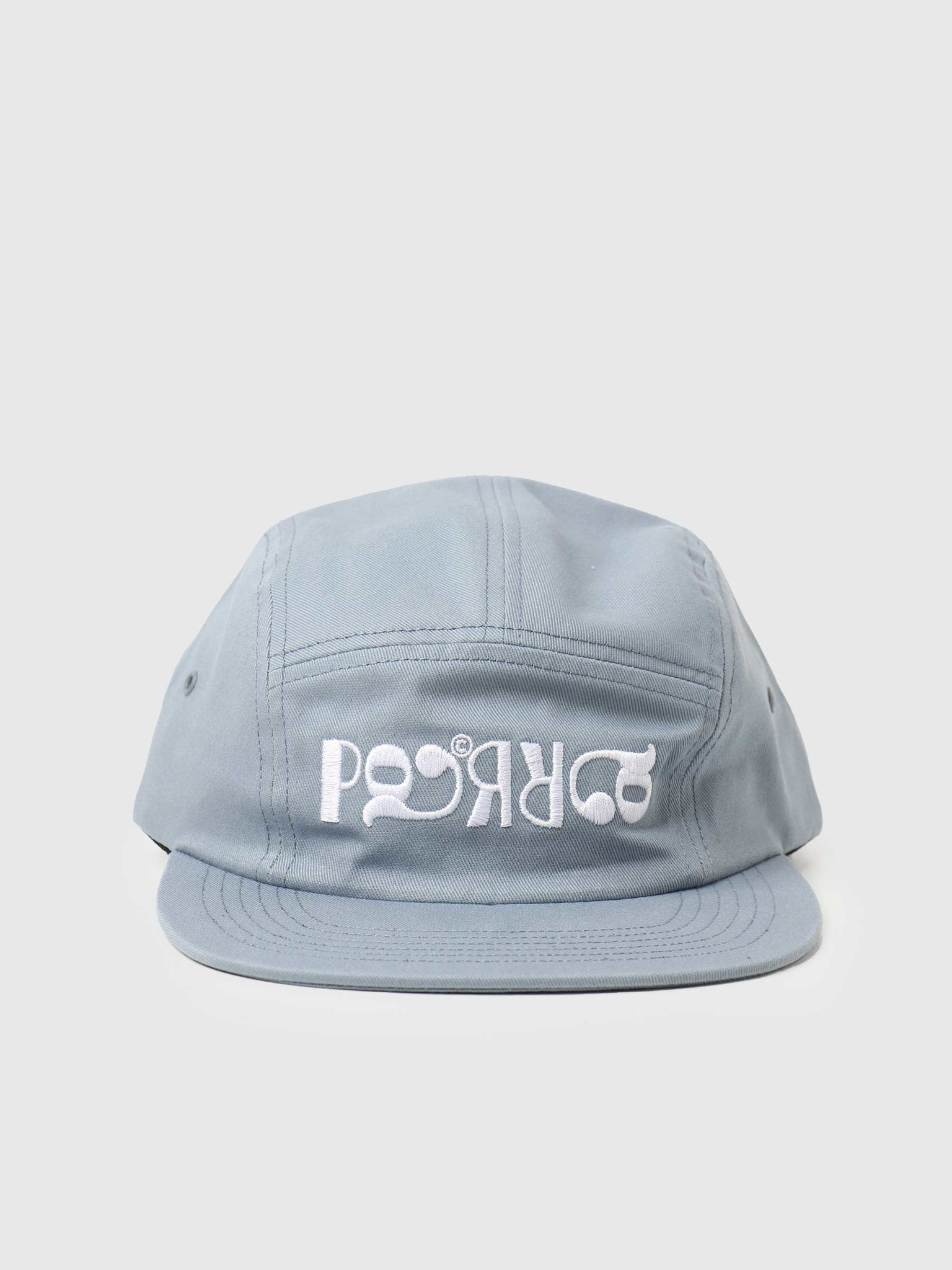 by Parra by Parra Fancy Logo Volley Hat Dusty Blue 45530