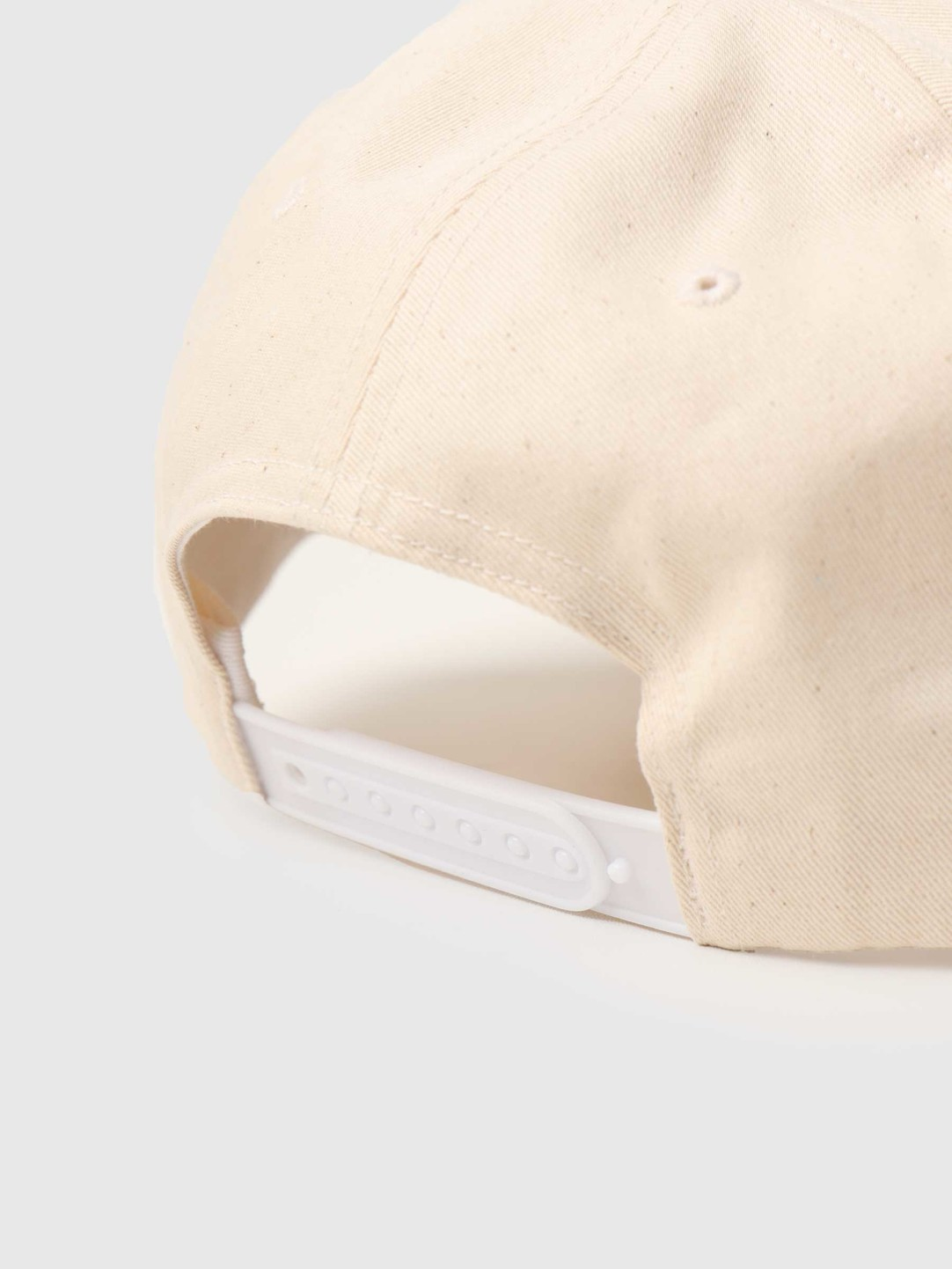 by Parra by Parra Snaked 6 Panel Hat Off White 45540