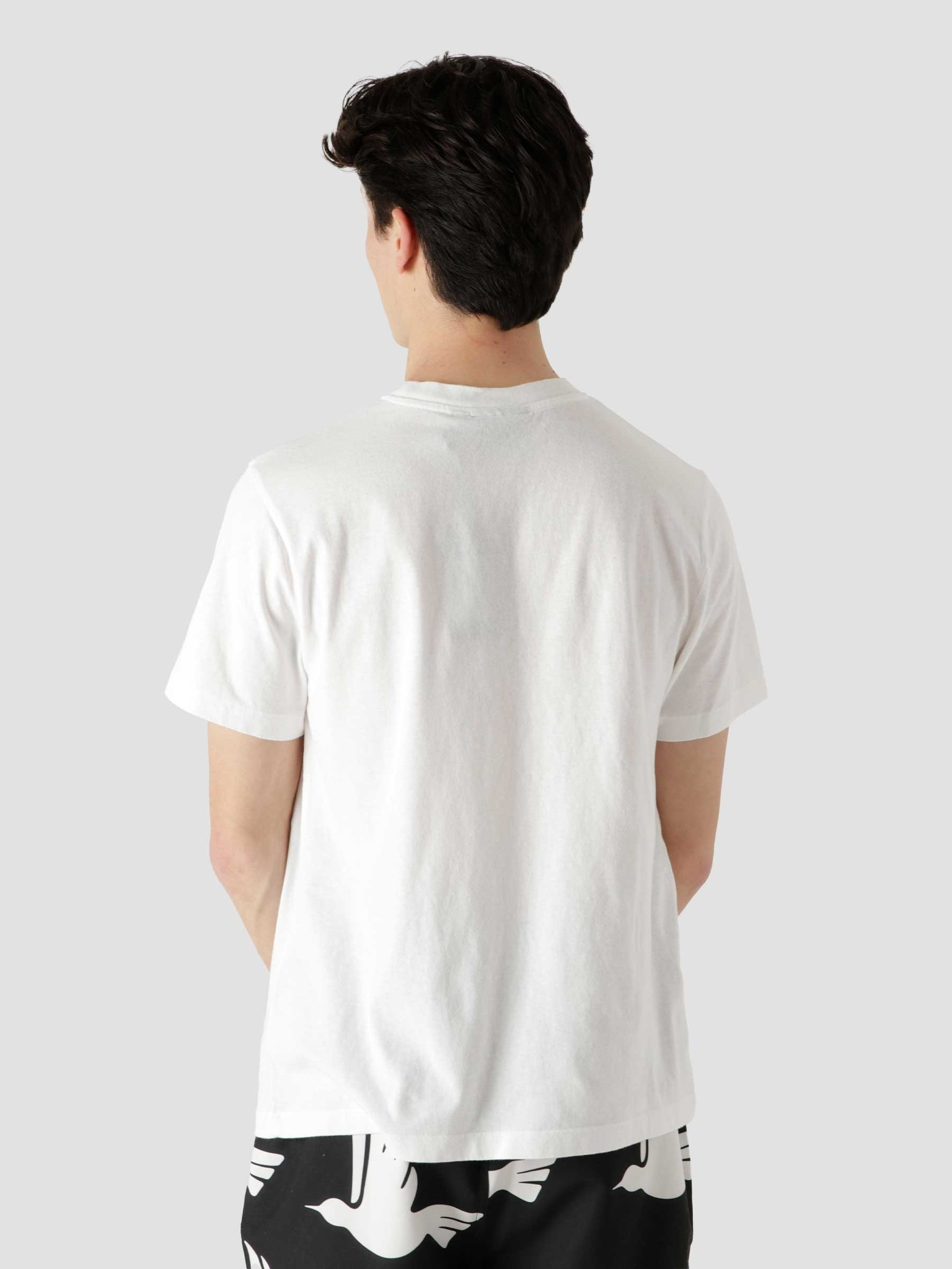 by Parra by Parra Bar Messy T-Shirt White 45420