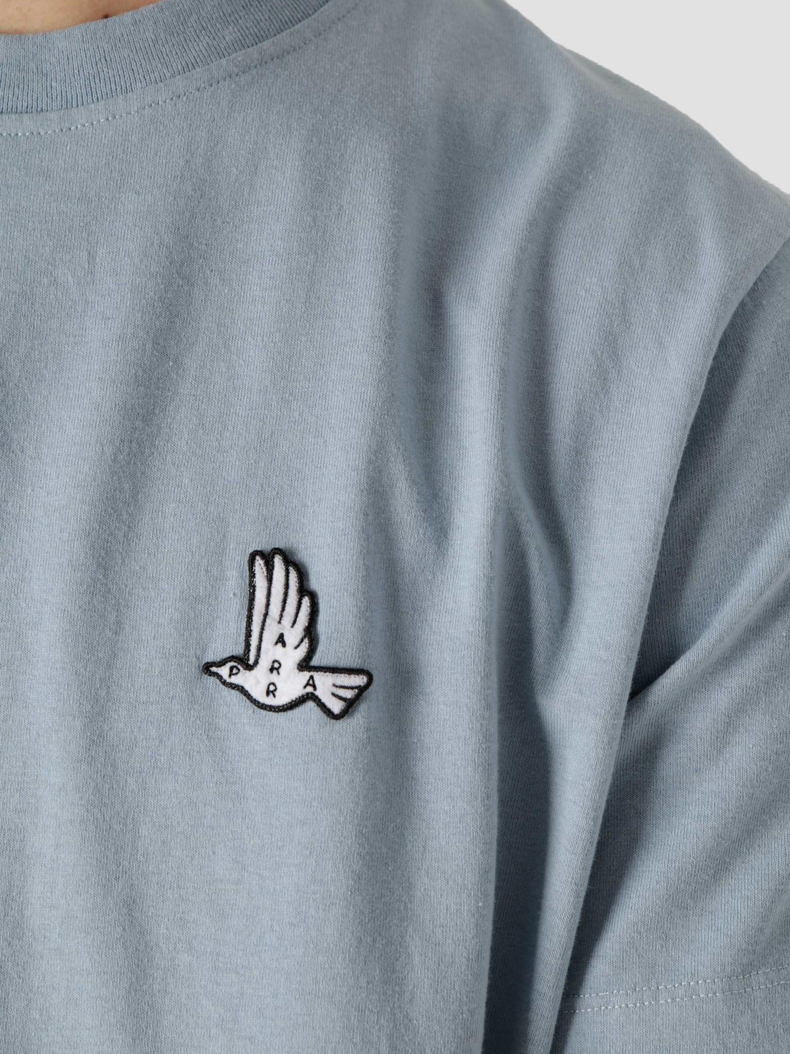 by Parra by Parra Mother Nature T-Shirt Dusty Blue 45440