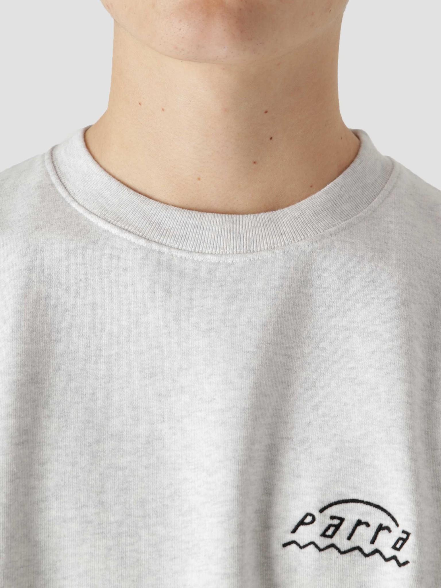 by Parra by Parra Arch Logo Sweatshirt Ash Grey 45490