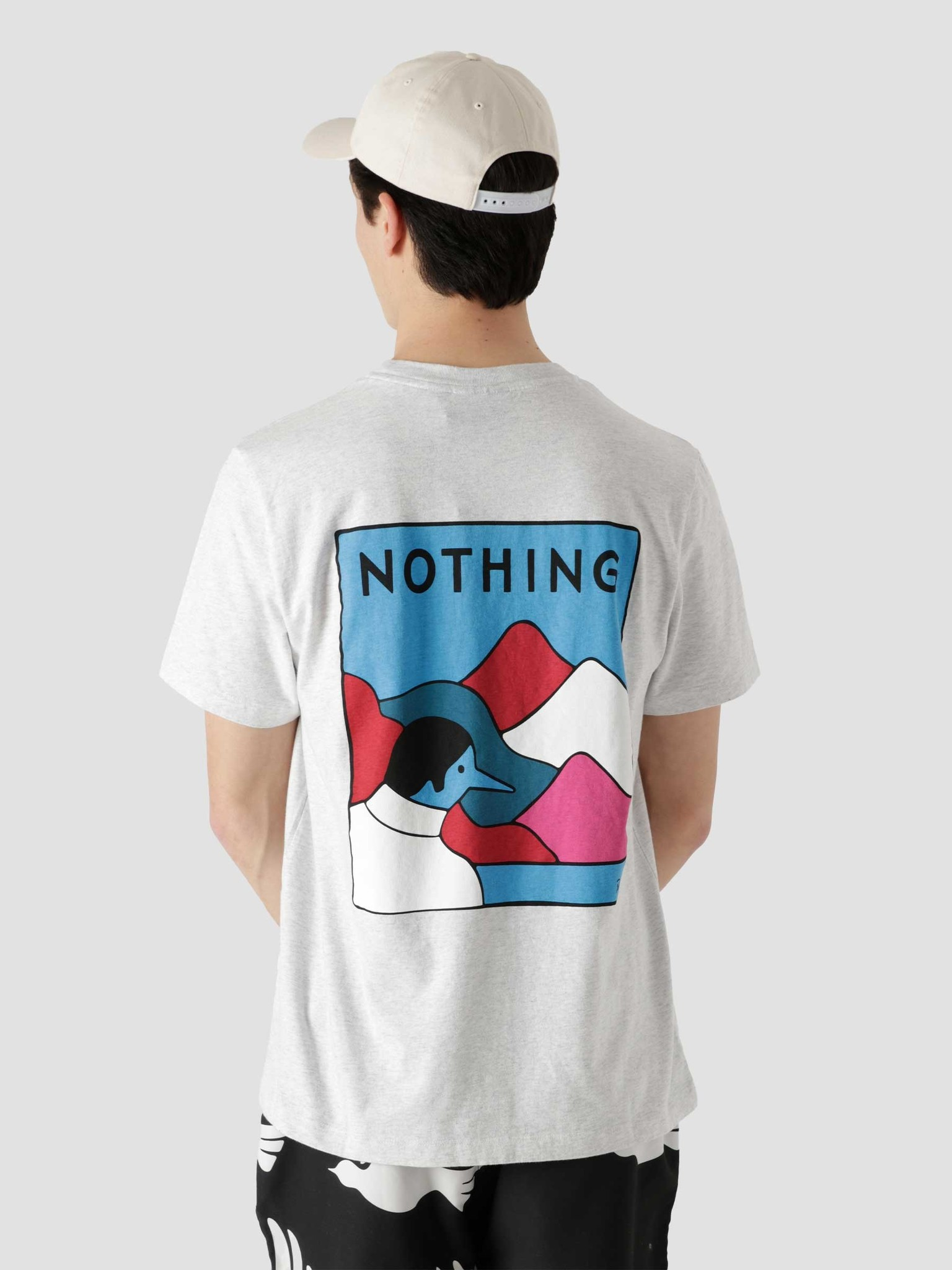 by Parra by Parra Nothing T-Shirt Ash Grey 45470