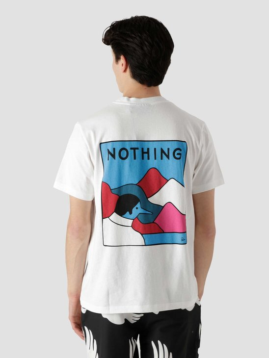 by Parra Nothing T-Shirt White 45460