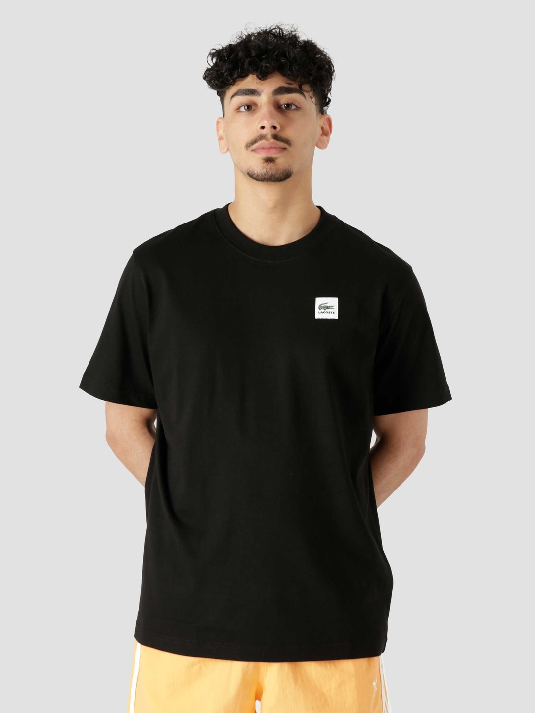 Lacoste Lacoste 1HT1 Men's T-Shirt Black TH9163-11