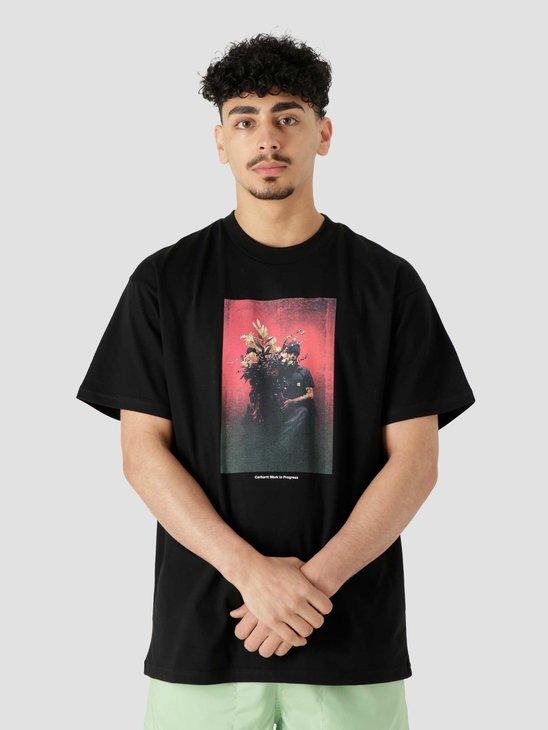 Carhartt WIP  Orbit Bouquet T-Shirt Black I029936