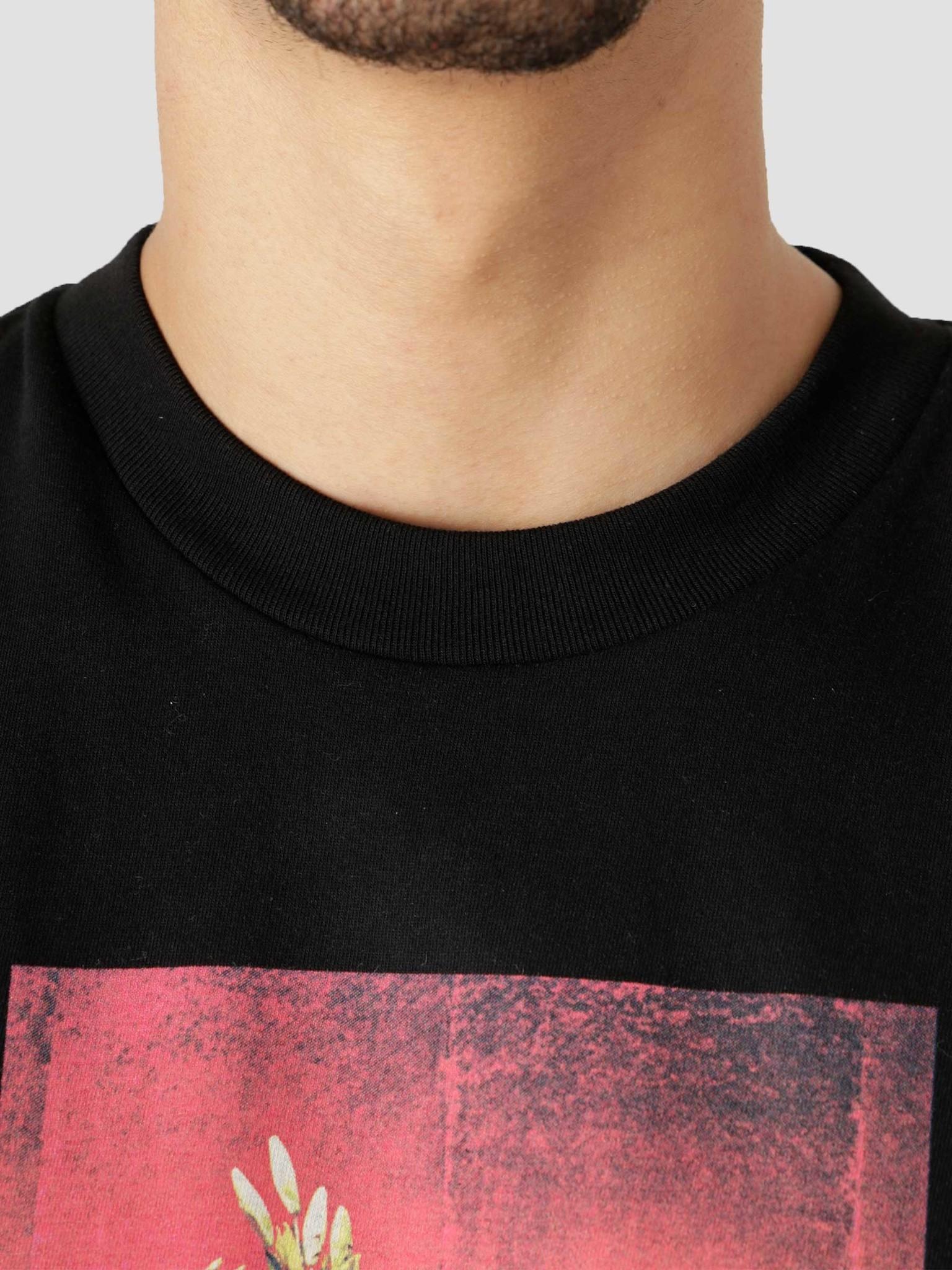 Carhartt WIP Carhartt WIP  Orbit Bouquet T-Shirt Black I029936