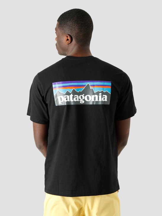 Patagonia M's P-6 Logo Responsibili T-Shirt Black 38504