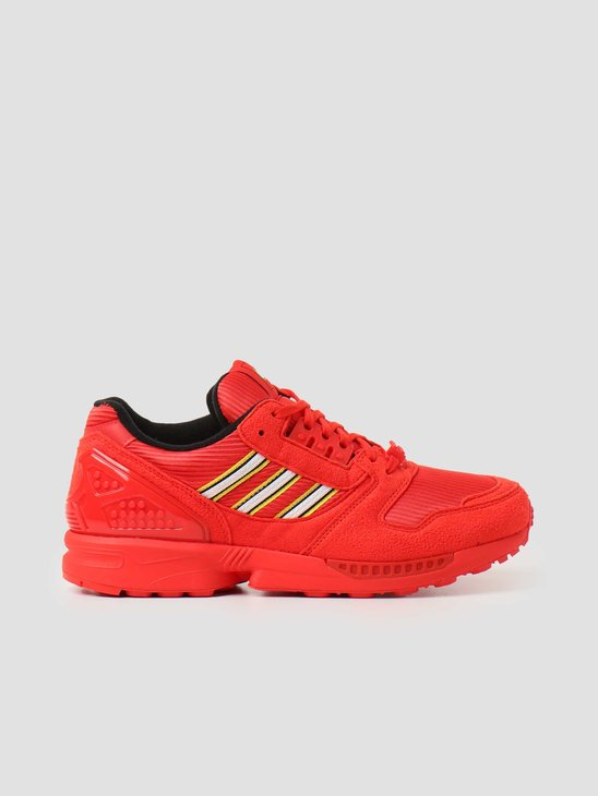 adidas ZX 8000 Lego Red Footwear White Red FY7084
