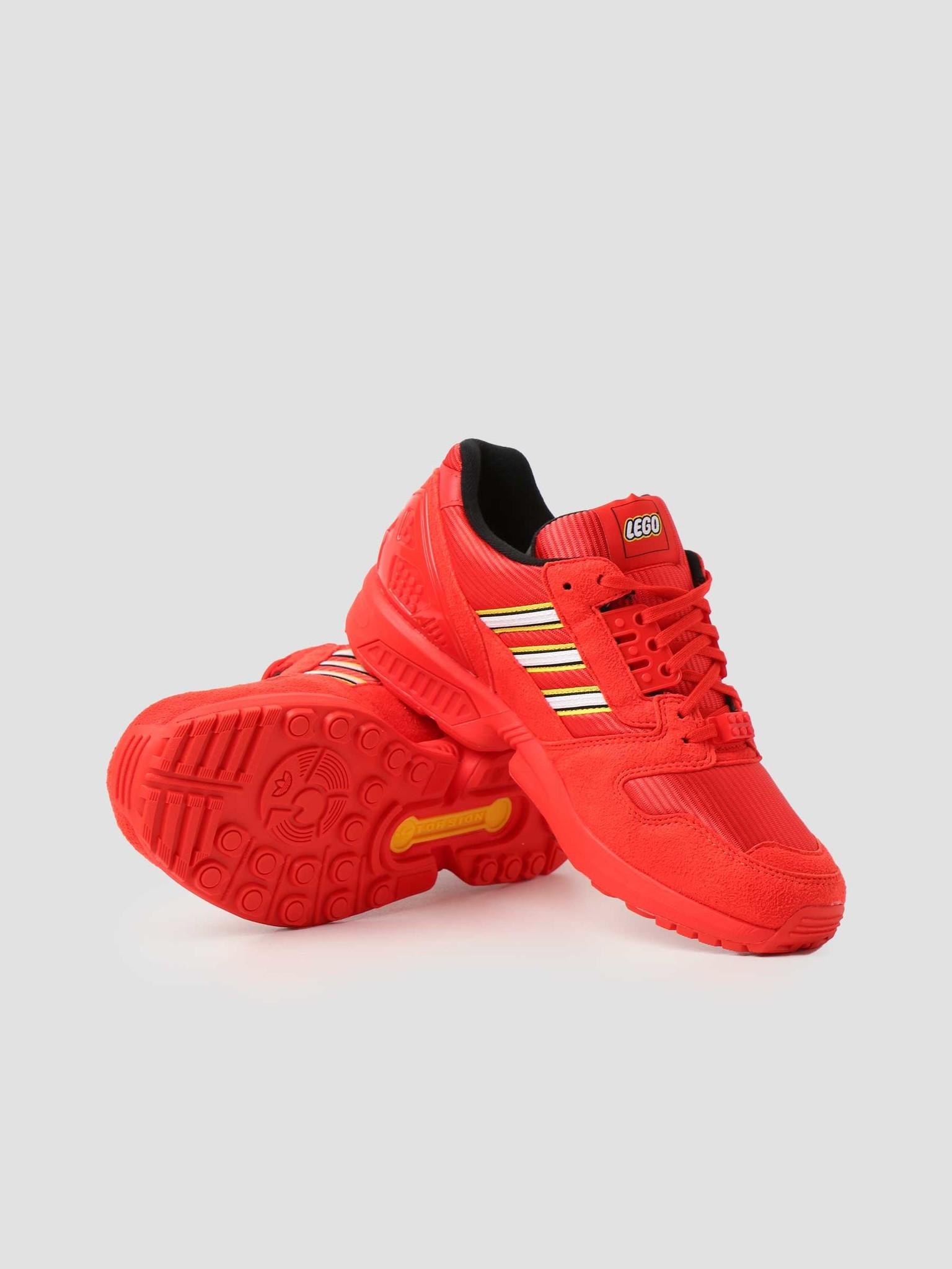 adidas adidas ZX 8000 Lego Red Footwear White Red FY7084