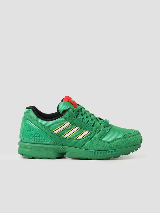 adidas ZX 8000 Lego Green Footwear White Green FY7082