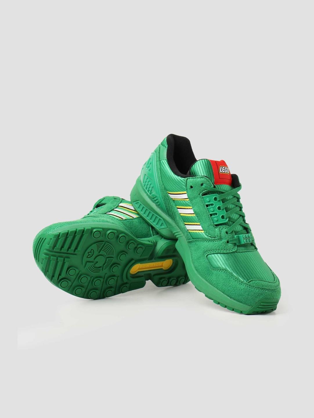 adidas adidas ZX 8000 Lego Green Footwear White Green FY7082