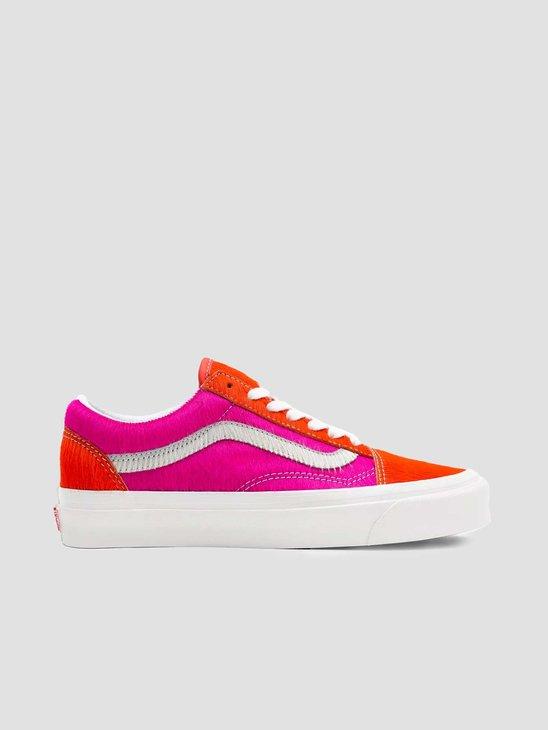 Vans UA Old Skool 36 DX (Anaheim Factory) Pink Pony True White VN0A54F341R1