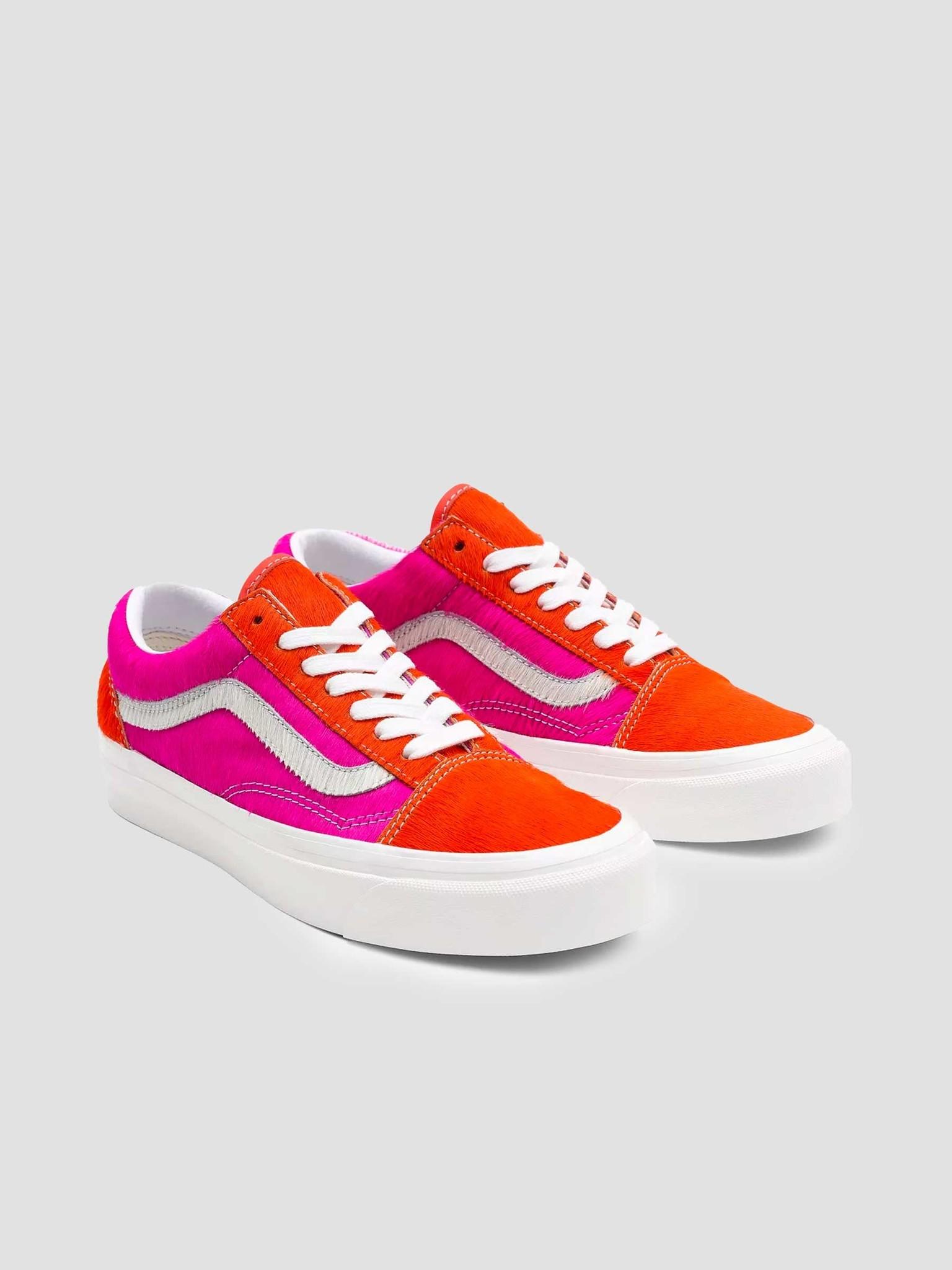 Vans Vans UA Old Skool 36 DX (Anaheim Factory) Pink Pony True White VN0A54F341R1
