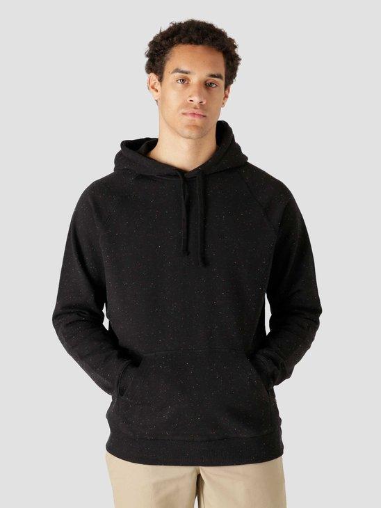 Quality Blanks QB932 Speckle Hoodie Black