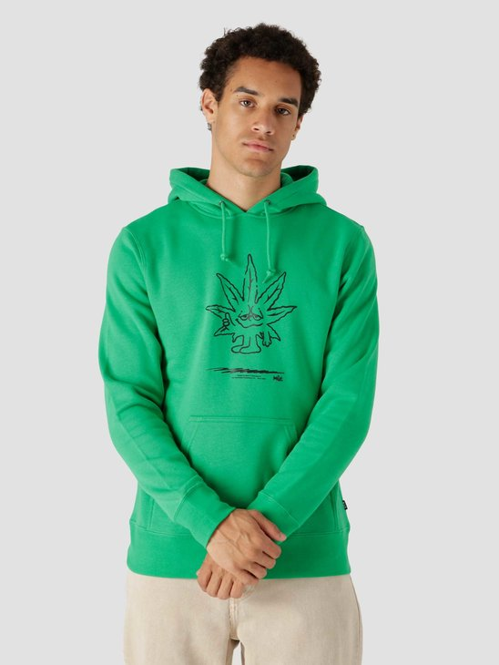 HUF Easy Green P/O Hoodie Green PF00446