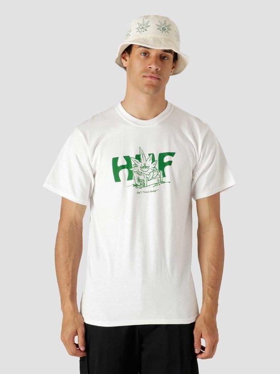 HUF In Da Couch Longsleeve T-Shirt White TS01608