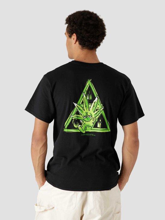 HUF Green Buddy Tt Longsleeve T-Shirt Black TS01607