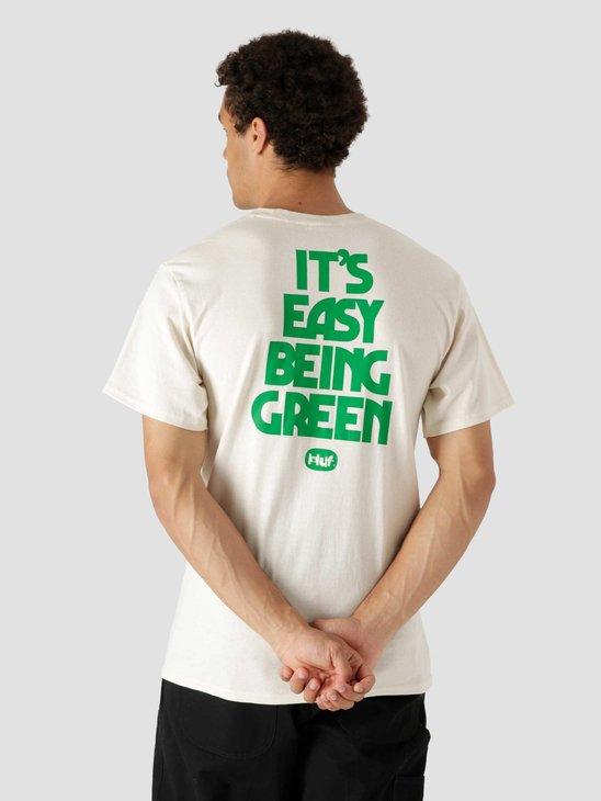 HUF Easy Green Longsleeve T-Shirt Natural TS01605