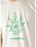 HUF HUF Easy Green Longsleeve T-Shirt Natural TS01605