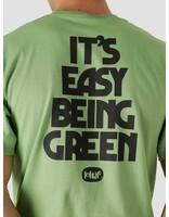 HUF HUF Easy Green Longsleeve T-Shirt Dill Green TS01605