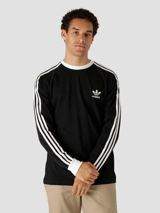 adidas 3 Stripes Longsleeve Black GN3478