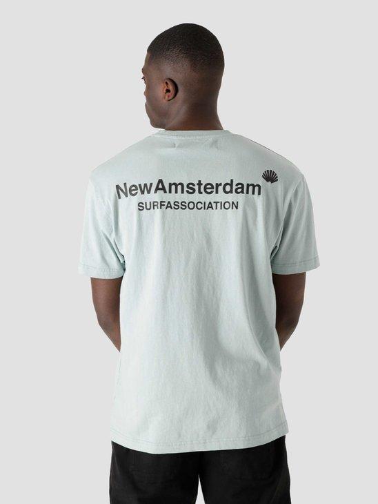 New Amsterdam Surf association Logo T-Shirt Mist 2021096